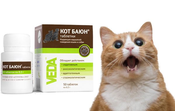 Кот баюн для кошек: описание препарата, дозировка, противопоказание