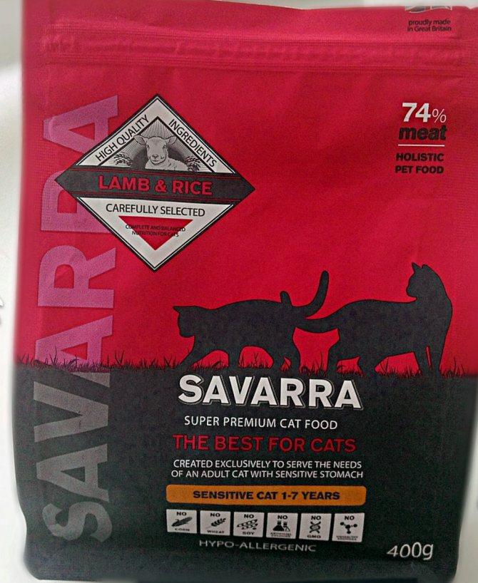 Корм для кошек savarra (савара): плюсы и минусы, отзывы ветеринаров