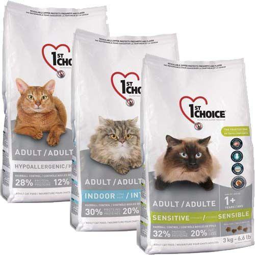 Корм 1st choice (фест чойс) для кошек
