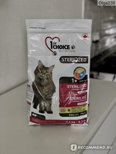 Корм для кошек 1-st choice подробный разбор состава: виды +видео