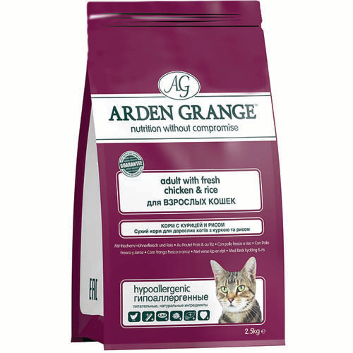 Обзор корма для кошек arden grange