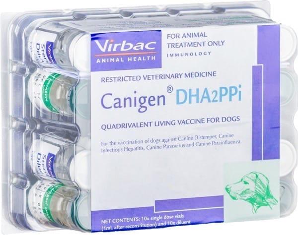 Вакцина каниген dha2ppi/l: инструкция по применению - вет-препараты