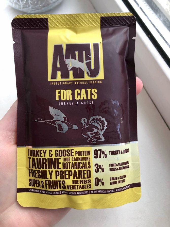 Корм для кошек aatu: 5 популярных вида, отзывы, стоит ли давать