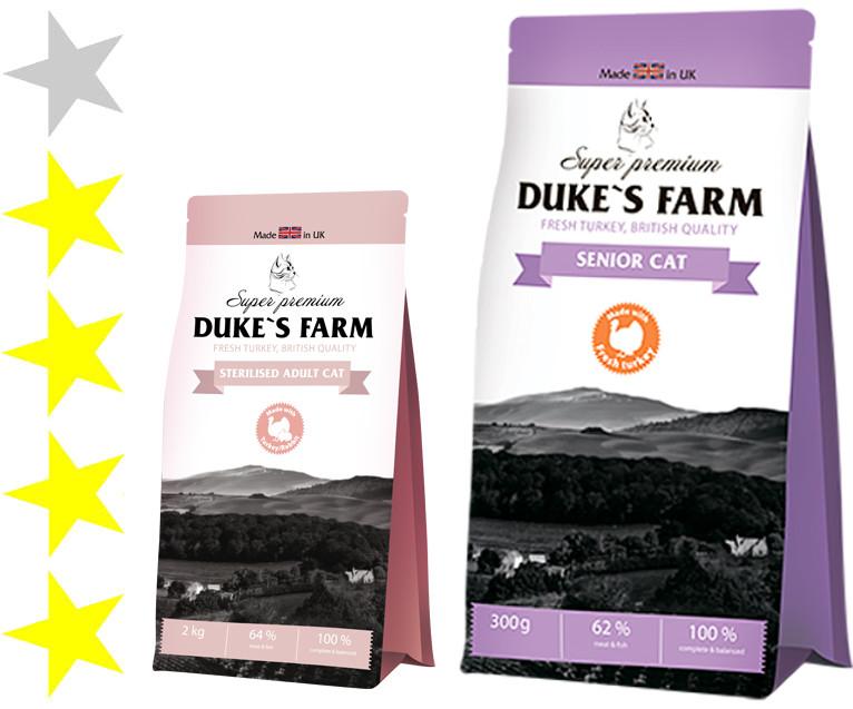 Корм для собак dukes farm