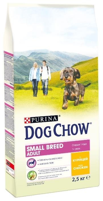 Корм purina dog chow для собак