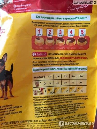 Корм для собак педигри: отзывы и обзор состава