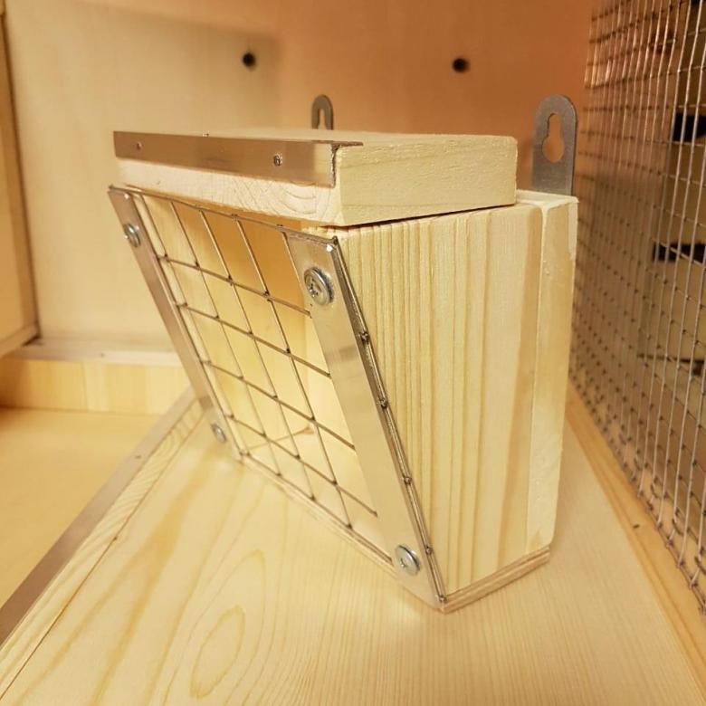 Кормушка и сенница для шиншиллы - выбор и создание своими руками - сайт о домашних питомцах