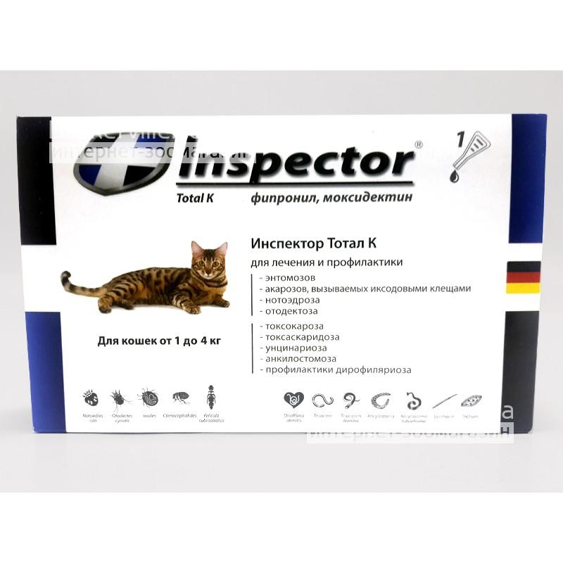 Таблетки для собак и кошек «инспектор квадро табс» от клещей и др. паразитов (инструкция)