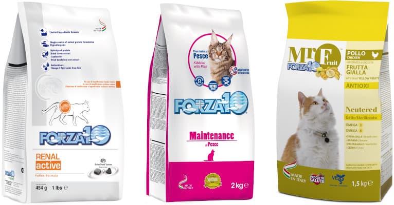 Корм forza10 (форза) для кошек: отзывы, где купить, состав