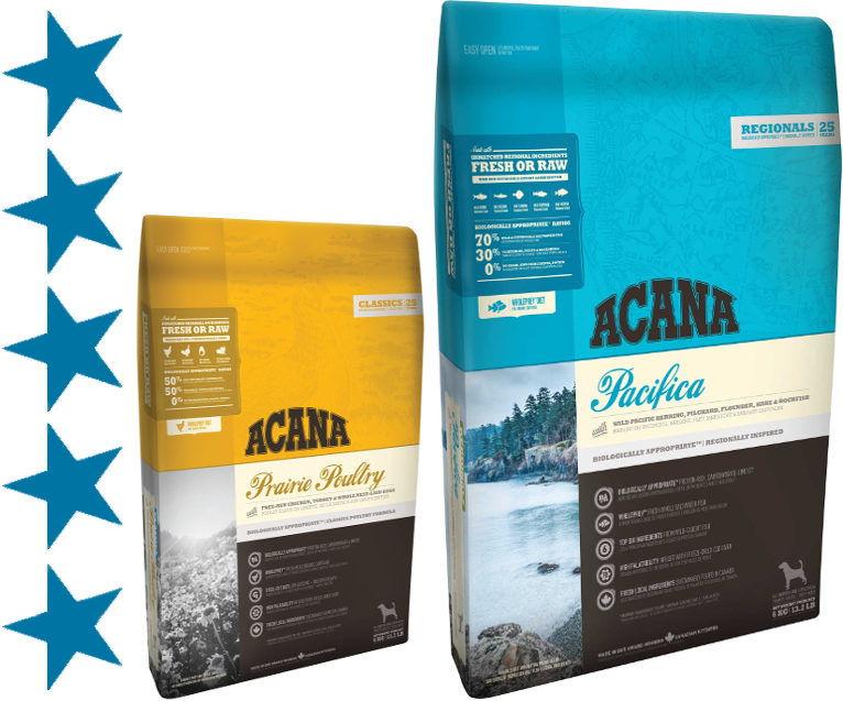 Корм для собак acana (акана): преимущества и недостатки, цена, состав