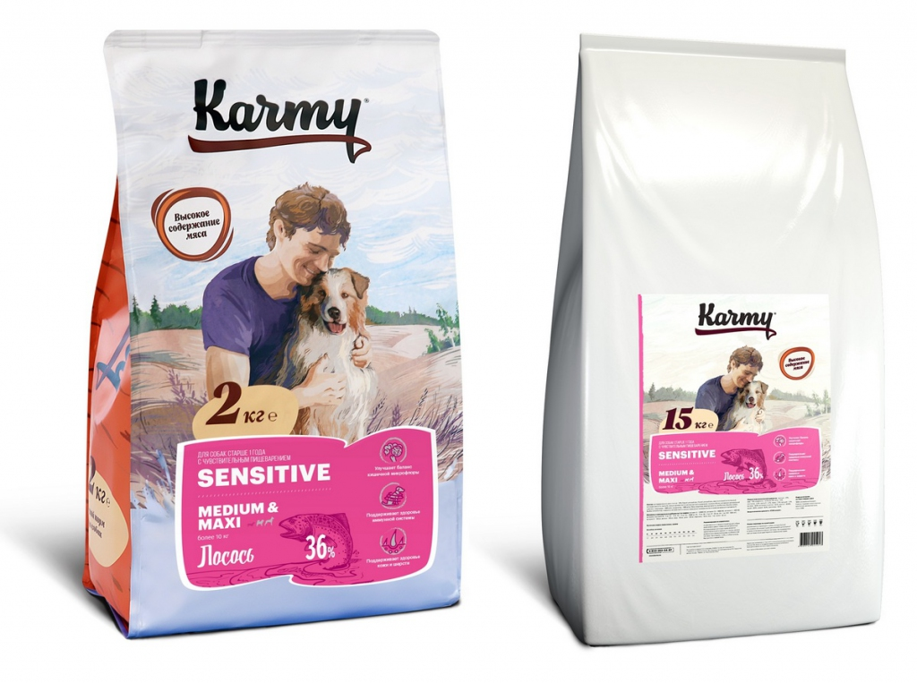 Корм для собак Karmy