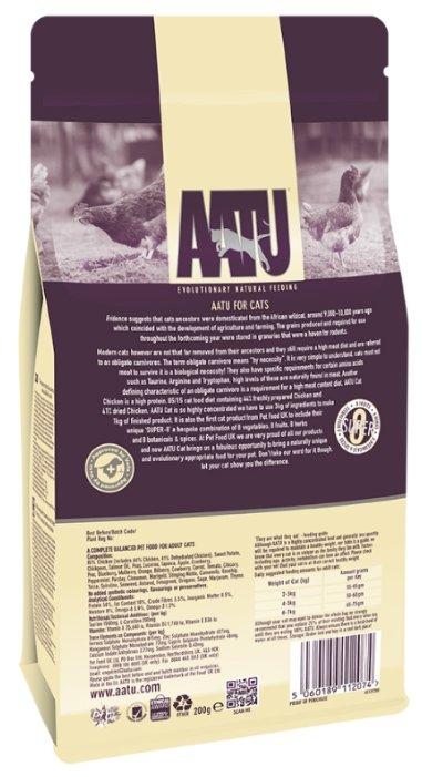 Aatu adult cat chicken & quail grain free - рейтинг, обзор корма, сравнение и анализ aatu adult cat chicken & quail grain free, состав и описание корма, плюсы и минусы aatu adult cat chicken & quail grain free, отзывы о корме, характеристика и дозировка