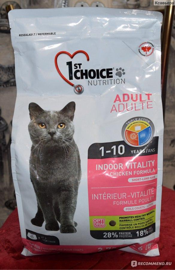 1st choice (фест чойс): обзор корма для кошек, состав, отзывы